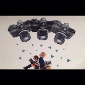 """""""The Surveillance State,"""" collage by Julie Mastrine"""